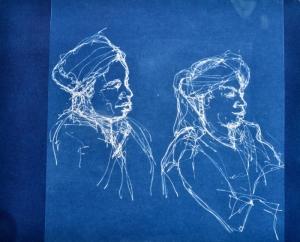 2 gnawa musicians