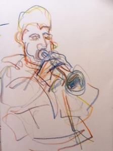 Lazauskas - Marrakech musician#2 - trumpet