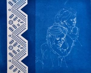 2 men & pattern